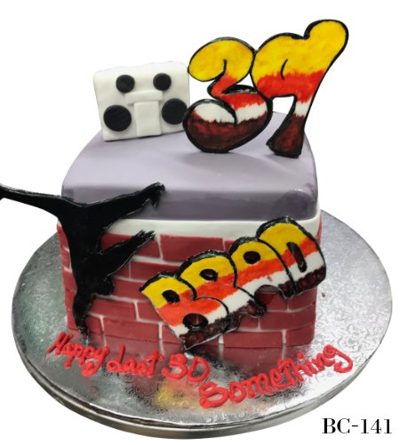 90's Theme Cake