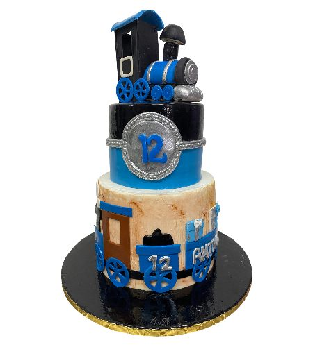 LOCOMOTIVE TRAIN CAKE