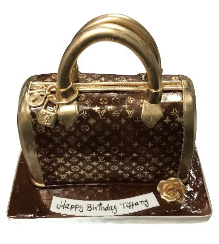L.V. BAG CAKE