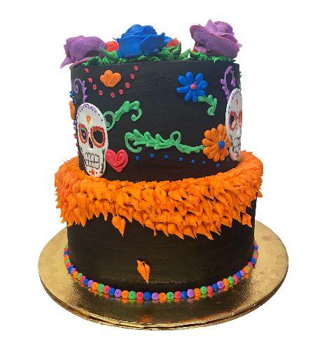 DIA DE LOS MERTOS CAKE