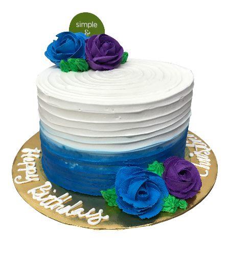 FLOWER WHIPPED CAKE