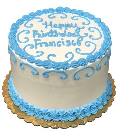 BLUE DESIGN CAKE