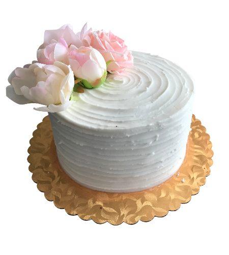 FLOWER LINE CAKE