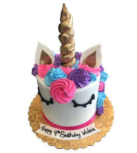 UNICORN MULTICOLOR CAKE