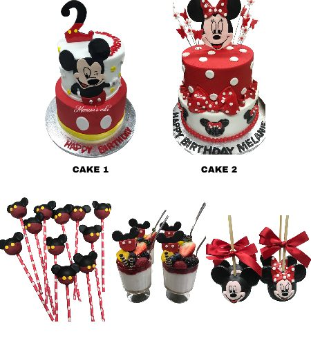MINNIE/MICKEY MOUSE PARTY PACK
